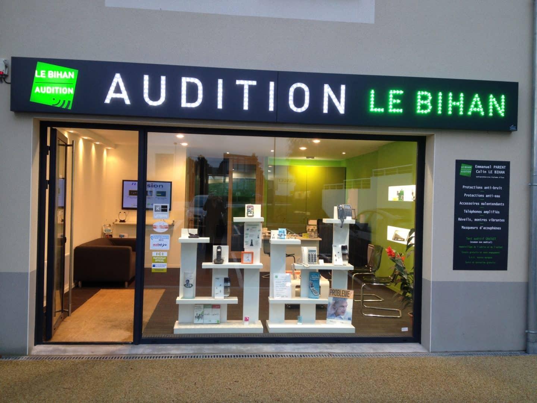 PHOTO EXTERIEUR AUDITION LE BIHAN FOUESNANT - Accueil